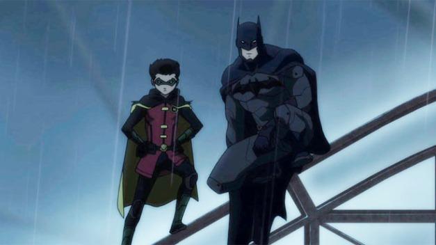 Bruce y Damian Wayne